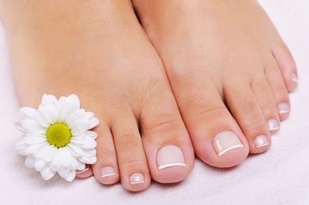 6643030 S Pedicure Flower Nail Polish Feet