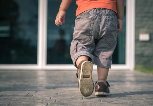Shutterstock M 1007637550 Pediatric Children Shoes Walking
