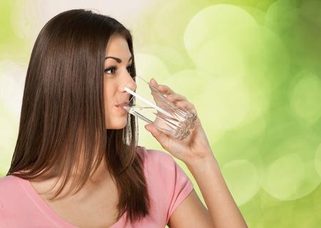 41211083 Water, Drinking, Women.
