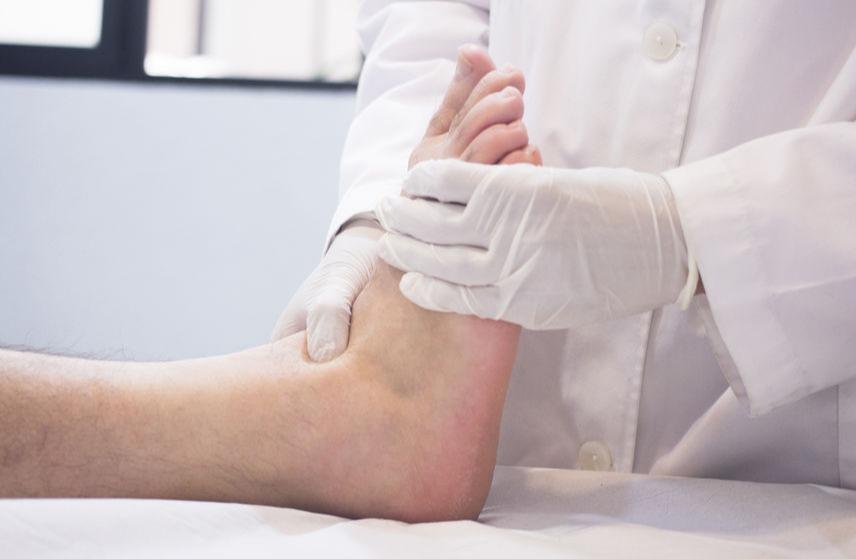 foot cyst - podiatrist