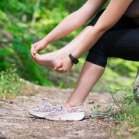 107509143 S Woman Runner Heel Pain